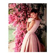 Quadro Audrey Hepburn Em Tela De Pintura