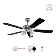 Ventilador Liliana Techo 5 Aspas C/ Control Y Timer.vthm410