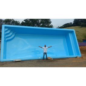 piscina de fibra usada mercado livre