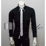 Camisa Juvenil Slim Fit, Talla S,m,l,xl,xxl,3xl Importado
