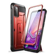 Funda Supcase 360 Samsung Galaxy S20 Fe + Protector Rojo