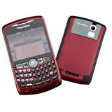 Carcasa Blackberry Curve 8300 8310 8320 8330 Bordo