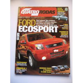 Revista Quatro Rodas Ano 43 Nº 510 Jan 2003 - Ford Ecosport