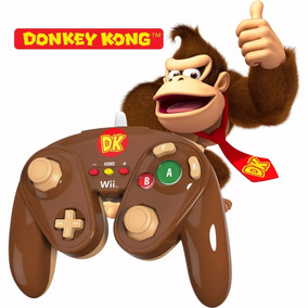 Controle Wired Fight Pad Donkey Kong Wii/wii U Lacrado