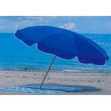 Sombrilla Playera Playa 2 Metros Caño 11/4 Pulg. Reclinable