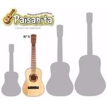 Guitarra Para Niños Paisanita De Madera Arval N° 5