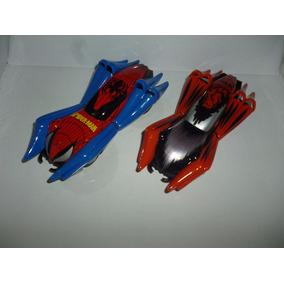 Carros Autorama Carrera Go Spiderman 1:43 Super Preço Dupla