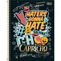 Caderno Capricho 10 Materias 2017 200 Folhas - Tilibra