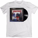 Camiseta Personalizada Black Sabbath Disco Sabotage