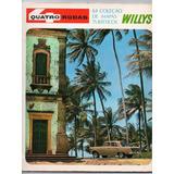 Revista 4 Quatro Rodas 6º Coleção Mapas Turisticos Willys
