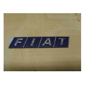 Emblemas Automotivos Fiat Azul