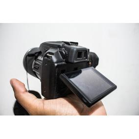 Camera Semi Profissional Fuji Film Canon Nikon Lente Zoom