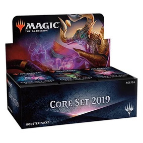 Booster Box Core Set 2019-português-promo Buy A Box Incluída