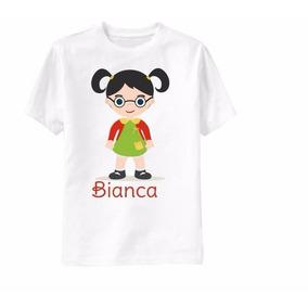 Camisa Infantil - 1 Ano Personalizada Qualquer Tema! Chiq.