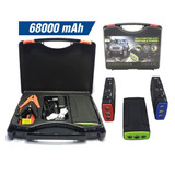 Arrancador Iniciador Carro Bateria Power Bank 68000mah Carga