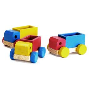 Conjunto De Mini Caminhões