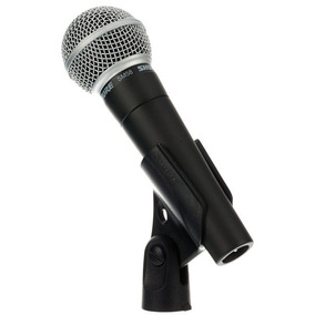 Microfone Shure Sm58 Lc Original | 2 Anos De Garantia E Nota