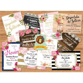 Invitaciones Despedida De Soltera, Originales, Vintage