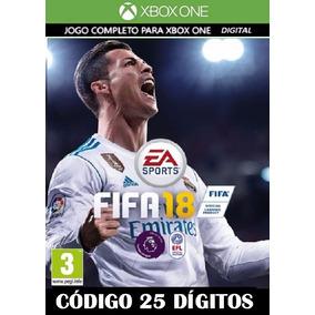 Fifa 18 2018 Xbox One - Código 25 Dígitos Promoção