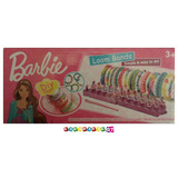 Loom Bands Barbie - Pulseras Gomitas Elasticas Telar