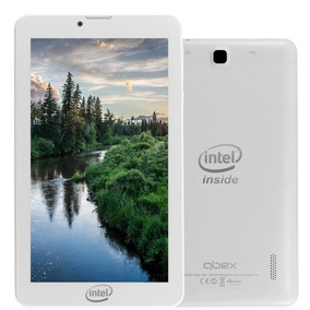 Tablet Qbex Txm721s 7 3g 8gb Intel 3g-r Branco