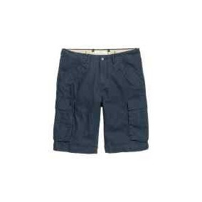 H&m Short Tipo Cargo Color Azul Talla 29 Y 30mx (03/18)