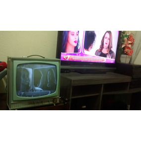 Tv Antiga Valvulada Retirar Não Envio Veja Descrição.