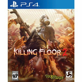 Combo 2 Juegos De Ps4 Killing Floor 2 Y Wolfestein Digitales