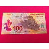 Billete 100 Pesos Centenario Revolucion Unc Serie A Y Error