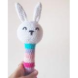 Sonajero Tejido Crochet. Amigurumi. Precio Por Mayor X 10 U.