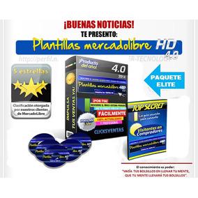 Plantillas Mercadolibre Hd 4.0 Elite Pro - Completo