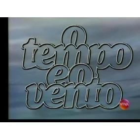 Minissérie O Tempo E O Vento - 9 Dvds