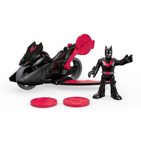 Bonecos - Imaginext Dc Super Amigos - Batman Do Futuro - Fis