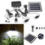 Nuevo Solar Con 3 Led Lámpara Usb 5v Celular Teléfono