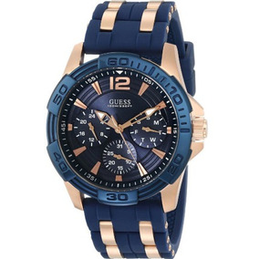 Reloj Guess De Hombre U0366g4 Sporty Rose Gold 100% Original