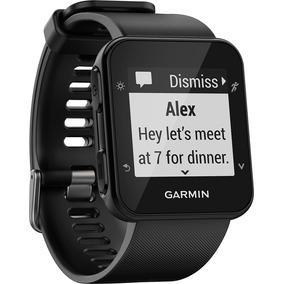 Relógio Gps Garmin Forerunner 35 Hr Preto Monitor Cardíaco