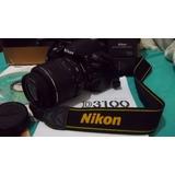 Câmera Nikon D3100 + Lente 18-55 + Bat. Recarregável