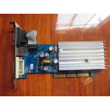 Tarjeta De Video Geforce N6200a 256mb, Agp