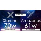 Iks Amazonas 61w Star One 70w Nagra Conax Sd Y Hd 70w