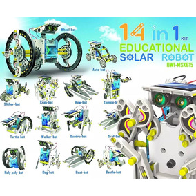 Kit Robo Solar 14 Em 1