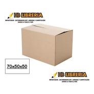 Caja De Carton Mudanza Grande  1era Calidad 70x50x50