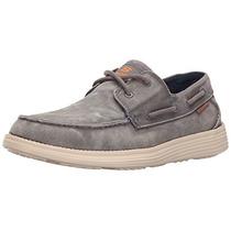 Zapatos Skechers Hombre Usa Status Melec Boat