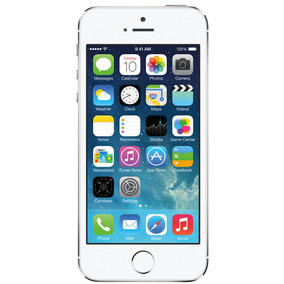 Iphone 5s 32gb Prata Bom Seminovo C/ Garantia E Nf