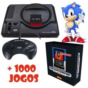 Mega Drive Edição Limitada Novo Console Tectoy + 1000 Jogos