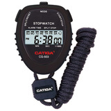 Cronometro Deportivo Digital Catiga Reloj Alarma 1/100s Full