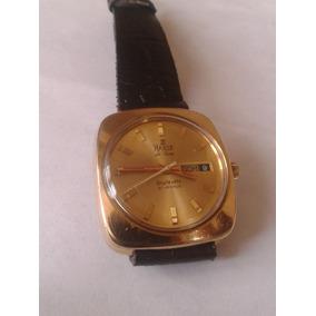 Reloj Haste Automatico Chapa De Oro Vintage (omega)