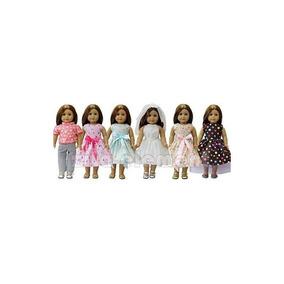 Zita Element Doll Clothes- Lote 6 Trajes Diarios Ropa Para N