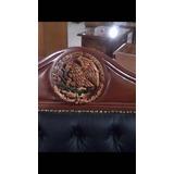 Sillon Ejecutivo Provenzal Con Escudo Nacional Mexicano