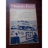 Mundo Ford Revista 1952 Automovilismo Unica En La Plata