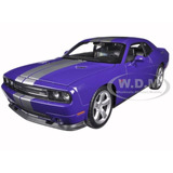 Dodge Challenger Srt 1/24 By Welly